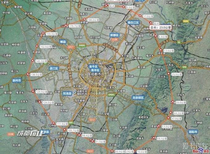 成都第二绕城高速广汉段建设进度